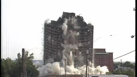 From The Vault: Sander Hall implosion brought 27-story University of Cincinnati dorm to its knees