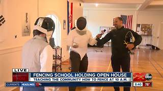 Kern County Fencing Foundation hosting an open house - Video