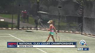 Girls National Clay Court Championships - Video