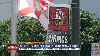 Social media rumors, threats disrupting classes