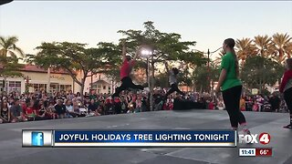 Joyful Holidays Tree Lighting