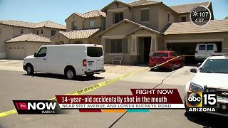 Teenager accidentally shoots himself in Buckeye - Video