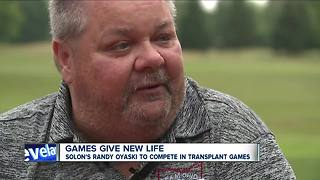 Solon man competing in Transplant Games - Video