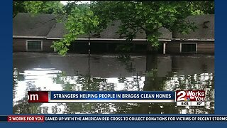 Strangers helping clean Muskogee County homes