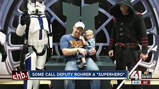 Slain WyCo deputy already a superhero to family - Video