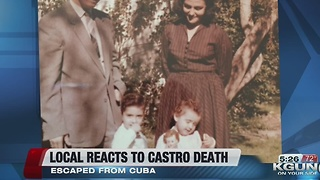 Local Cuban reacts to Castro's death - Video