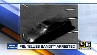 'Blues Bandit' arrested for multiple robberies across Valley - Video