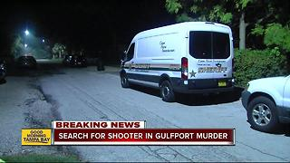 Search for suspect in Gulfport fatal shooting - Video