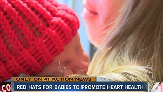 Calling all knitters! Red hats needed for babies - Video