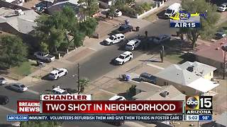 Shooting in Chandler injures two people - Video