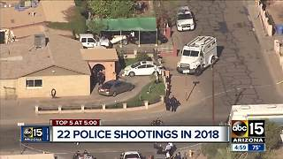 Suspect killed in officer-involved shooting in Phoenix - Video