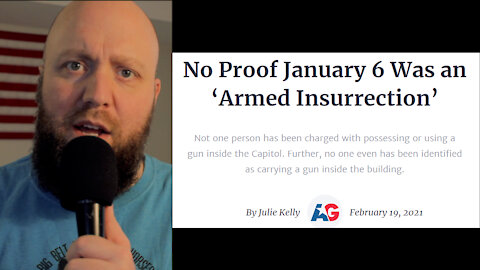 No Proof of Armed Insurrection