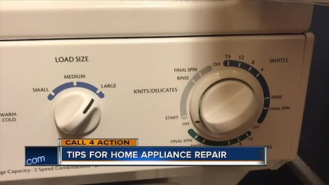 Here are some tips for home appliance repair