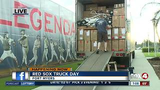 Truck Day at Red Sox spring training - Video