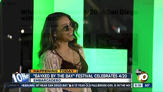 """Bayked by the bay"" festival celebrates 4/20"