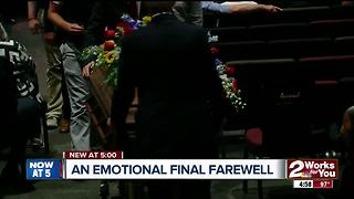 An emotional final farewell - Video