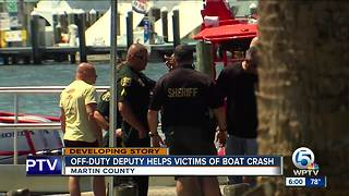 2 injured after boats collide in Martin County - Video