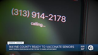Wayne County targeting COVID-19 vaccines for seniors in 8 communities
