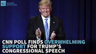CNN Poll Finds Overwhelming Support For Trump's Congressional Speech - Video