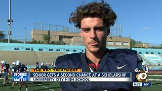 University City senior gets a second chance at a scholarship - Video