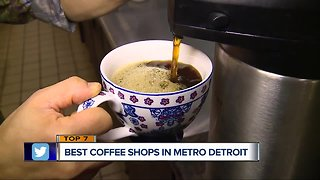 Thursday's Top 7: Best coffee shops in metro Detroit