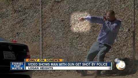 Video captures shootout between suspect and police