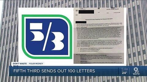 Fifth Third Bank: Employees stole customer information, provided to outside party