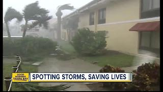 Spotting storms and saving lives: More mothers and young people help on hurricane watch - Video