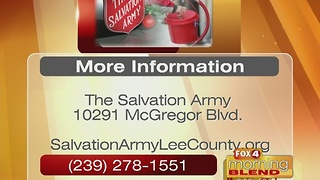 The Salvation Army's Red Kettle Campaign is back 11/21/16 - Video