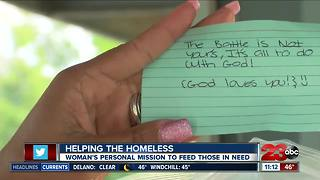 Helping the homeless: One woman's mission to feed those in need - Video