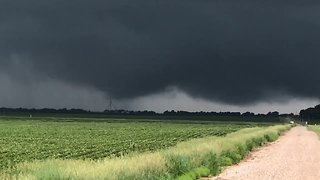 Tornado Spotted From Afar in Central Iowa