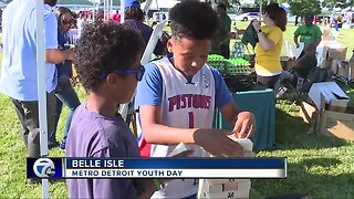 Metro Detroit Youth Day at Belle Isle