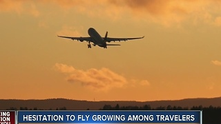 Hesitation to fly growing among travelers - Video