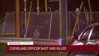 UPDATE: Cleveland police identify officer shot, killed on city's West Side