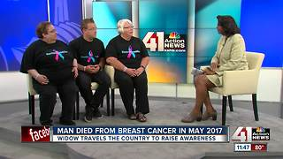 Raising awareness for breast cancer in men - Video