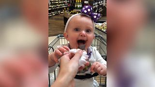 Baby's First Taste Of Chocolate - Video