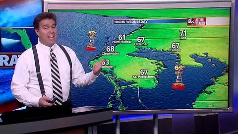 Florida's Most Accurate Forecast with Denis Phillips on Tuesday, January 23, 2017
