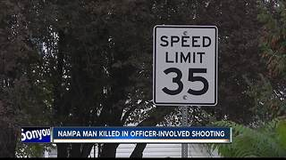 Nampa man dead after officer-involved shooting