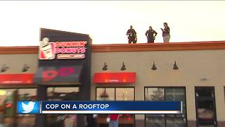 Stop by Dunkin' Donuts Cop on a Rooftop Friday - Video