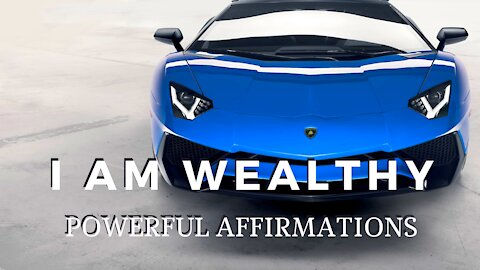 I AM Affirmations To Attract Wealth, Money & Success (LISTEN TO THIS EVERY DAY!)