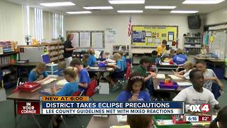 How local school districts plan to keep your child safe during solar eclipse - Video
