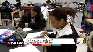 University of Cincinnati, CPS partnership aims to increase diversity in IT industry - Video