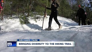 One group is working to bring diversity to the hiking trail