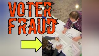 Just some more voter fraud....