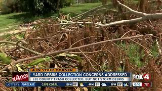 Lee County addresses Hurricane Irma debris pick up - Video