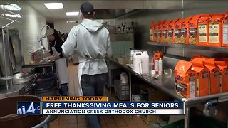 Free Thanksgiving meals for seniors