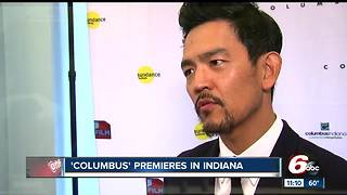 Hollywood comes to Columbus for premiere of movie filmed in the small Indiana town - Video