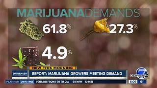 Report: Marijuana growers meeting demand