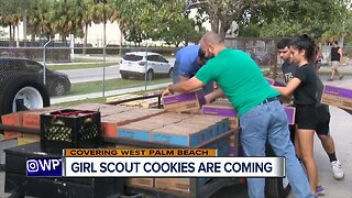 Girl Scout cookies are coming