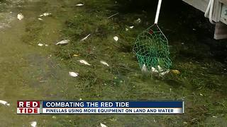 Pinellas County continues to combat red tide